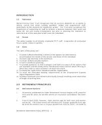 Hr Policy Templates Free Premium It Procedure Template And Manual ...
