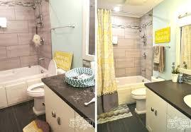 yellow gray bathroom decor and white black ideas grey teal blue bathrooms glamorous