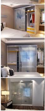Melamine Bedroom Furniture Bedroom Corner Wardrobe Melamine Closet System Sliding Plywood