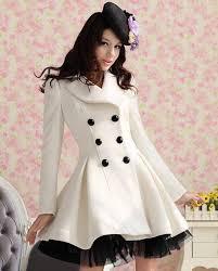 wool dress coats women double ted peacoat elegant swing las womens winter dress coats trends