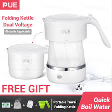 <b>PUE</b> Travel Foldable Mini Electric <b>Kettle</b> Portable Water <b>Kettle 500Ml</b> ...