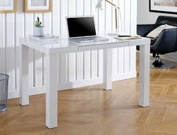High office desk Rustic Farm Rakutencom Berlin High Gloss Computer Office Desk Free Delivery Furniturebox