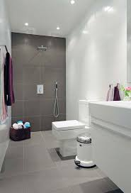 bathroom floor tile grey. bathroom floor tile ideas in white and grey themed with large square grid shape