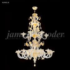 murano 18 arm entry chandelier
