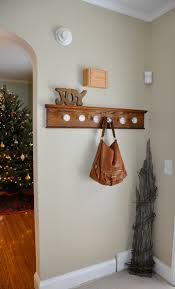 Knob Coat Rack Awesome Before After Glass Doorknob Coat Rack Our Fine House