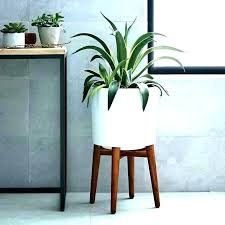 modern plant stands indoor stand contemporary planters amazing planter crate and barrel wood