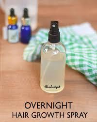 overnight hair growth spray