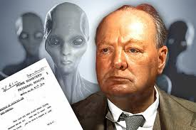 winston churchill essay shows he believed in extraterrestrials winston churchill essay shows he believed in extraterrestrials despite his ufo cover up