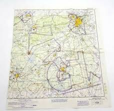 Sectional Aeronautical Chart Vintage Birmingham Sectional Aeronautical Chart Map 59th Edition April 29 1965 Ebay