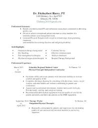Resume For Therapist – Moncleroutlet