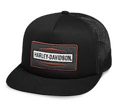 Men\u0027s Stacked Graphic Foam Trucker Cap - 9942318VM | Harley-Davidson USA
