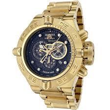 where to buy invicta men s subaqua 6553 gold watches for men gold watches for men invicta