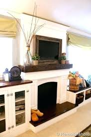 tv on fireplace mantel remarkable please mount your over the 3 interior design 24