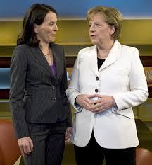 Ihre einladung hat sie aufrecht erhalten. Angela Merkel Trifft Auf Anne Will