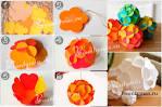 Сделать игрушку на елку из цветной бумаги