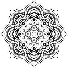 Coloriages Mandala Fleur De Lotus Adultes Concernant Dessin