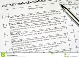 Job Evaluation Report Performance Evaluation Report Stock Photo Image of renewal human 1