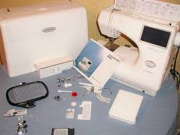 Janome Mc 9000 Embroidery Sewing Machine