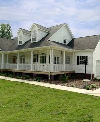 Callaway Farm Country Home Plan D    House Plans and MoreRanch House Plan Porch Photo   D    House Plans and More