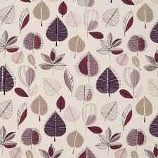 Curtain Fabric Maple Curtain Fabric Damson Cheap Printed Curtain Fabric Uk