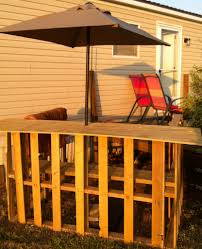diy pallet patio bar. DIY: Tiki Bar Base \u0026 Umbrella Addition Using Pallets. Add Some Bamboo Or Grass Diy Pallet Patio