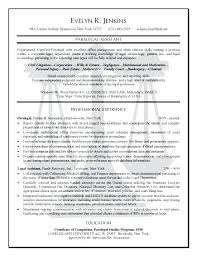 Personal Assistant Resume Examples New Sample Resume Legal Assistant Personal Injury Paralegal Assistant