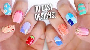 Lazy Girl Nail Art Unique Nail Polish Designs Easy - Nail Arts and ...