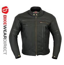 texd two tone leather racing jacket