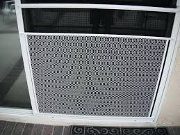 out of sight patio door screen guard here are screen door grates decor with sliding grill guard patio