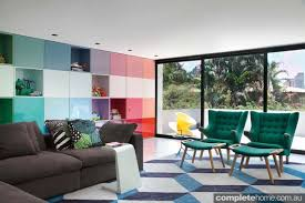 Nice Brazilian Beauty: Colour Drenched Interior With Modern Design.  Vibrant_interior Style