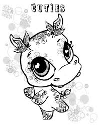 Small Picture Little Cute Hippo Coloring Page NetArt
