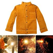 welder jacket cow leather a protective coat long sleeves welding clothing welders workplace safety apparel l 4xl jl mens fall vest men in jacket from