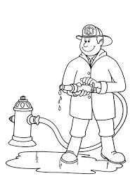 community helpers coloring pages firefighter   coloringstarcommunity helpers coloring pages firefighter