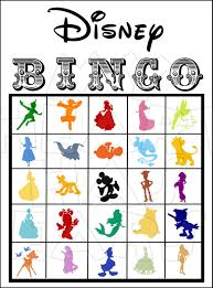 25 printable disney bingo cards digital file you print instant my heart has ears
