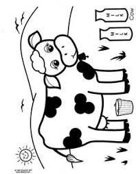 Small Picture Cow Coloring Pages Coloring Coloring Pages