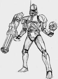 Star Wars Clone Trooper Coloring Pages Coloring Pages Di 2018