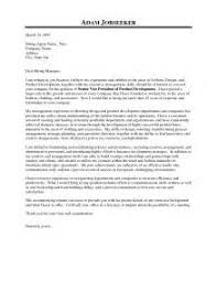 cover letter examples fashion industry cover letter fashion industry
