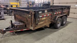 the sandblasting and painting team at fortis mining engineering and manufacturing do an amazing job restoring a rusted trailer under a tight schedule
