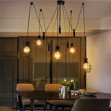 industrial lighting ideas. Europe Vintage Loft Industrial Style Iron Cages Pendant Lights Bar Throughout Look Lighting Ideas 14