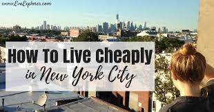 how to live ly in new york city
