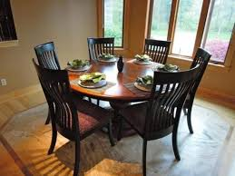 incredible 60 inch round dining table set