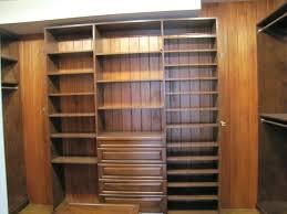 wood closet shelving lovely mahogany walk in closet with backing wood closet shelving ideas