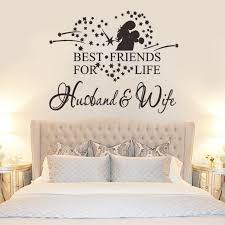 Best Friend For Life Husband Wife Vinyl Wall Sticker Bedroom Decor Simple Best Husband And Wife