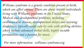 What Is Williams Syndrome Williams Syndrome Association