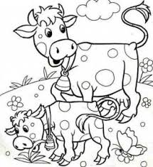 Small Picture Farm animals coloring pages funnycrafts