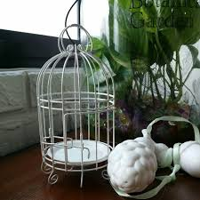 decorative bird cage for candles