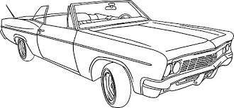 Small Picture Lowrider Classic Car Coloring Pages NetArt