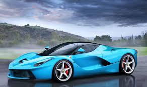 We have collection of ferrari cars wallpapers. Blue Ferrari Car Wallpaper