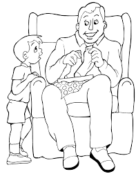 Small Picture American Dad Coloring Pages AZ Coloring Pages Dad Coloring With