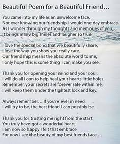 best friends forever poems that make you cry